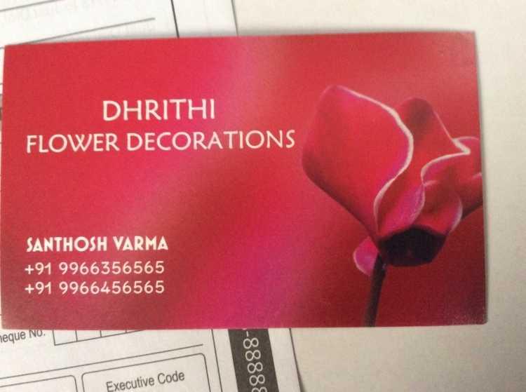 Dhrithi Flower Decorations