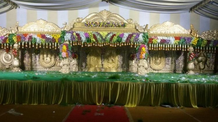 Sri Venkateswara Flower Decorations