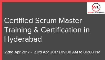 Certified Scrum Master Training and Certification in Hyderabad