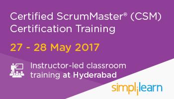 CSM Certification Training in Hyderabad| Classroom Training Program