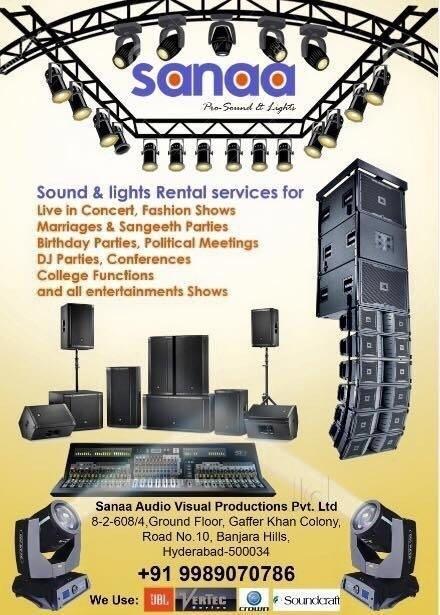 Sanaa Pro Sound & Lights