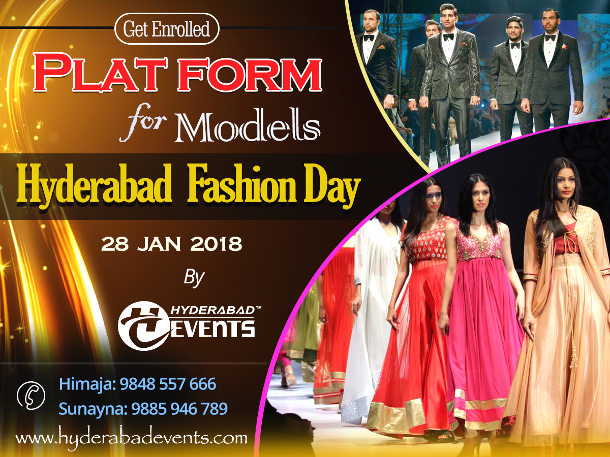 The first ever blockbuster event of Fashion Show in Hyderabad – Hyderabad Fashion Day
