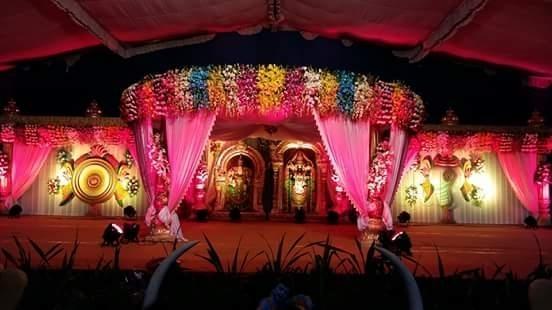 Sree Vigneshwara Flower Decoration