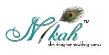 Nikah - the designer wedding cards
