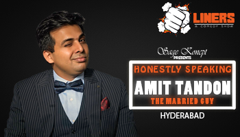 Punchliners: Honestly Speaking By Amit Tandon Hyderabad