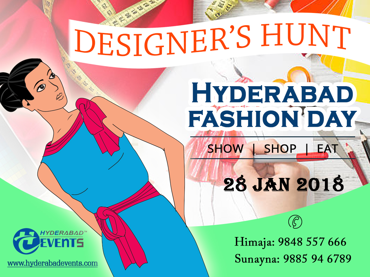 Welcome to the first ever largest show of Hyderabad – Hyderabad Fashion Day