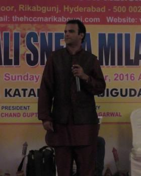 Amjad Khan Singer & Organiser