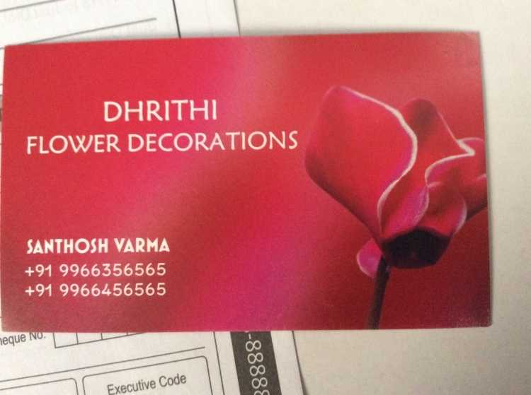 Dhrithi Flower Decorations