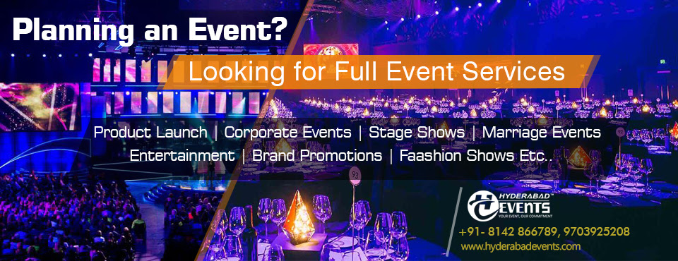 Hyderabad Events Industry Privacy Policy