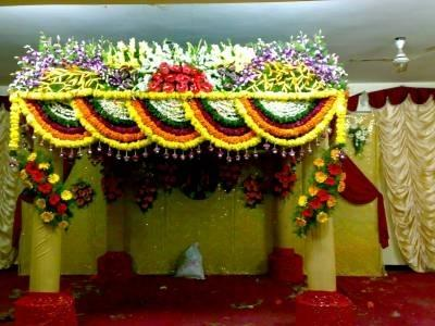 Jai Bhavani Flower Decoration