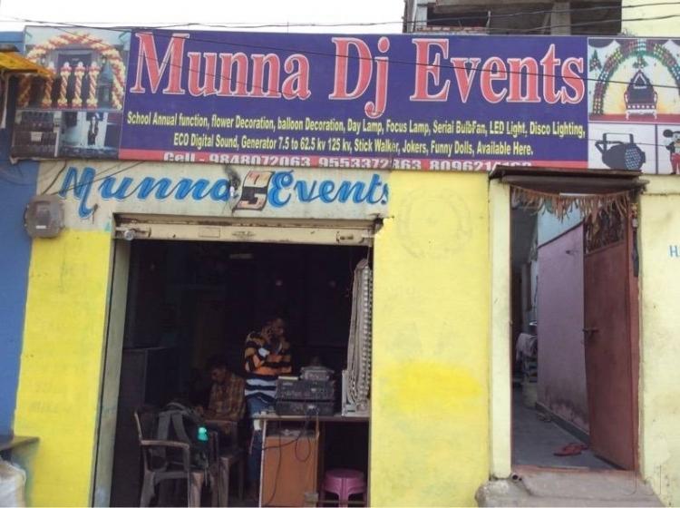Munna D J Events