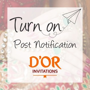 D'Or Invitations